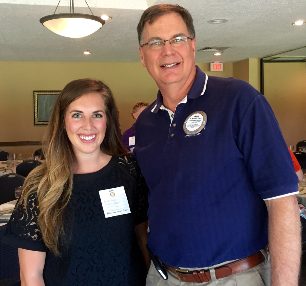 Rachel Macari and Dr Michael Ludlow